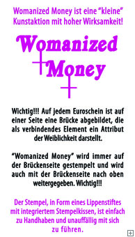 Womanized Money